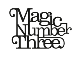 `Three` it`s the magic number...